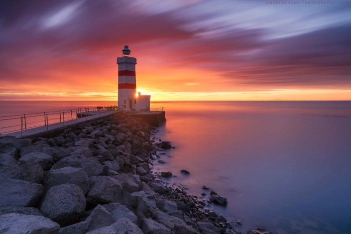 seascape-Gardur-Light-House-Sunset-Iceland