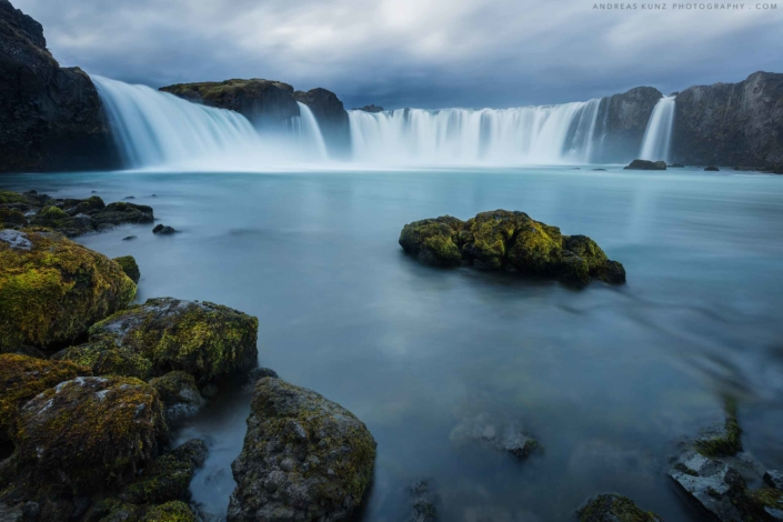 Iceland-Godafoss-white-long-exposure-Andreas-Kunz-Photography