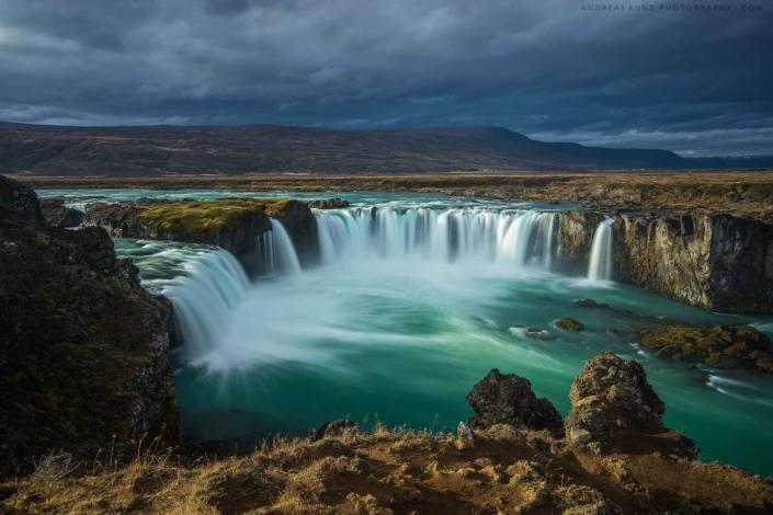 Iceland-godafoss-sunset-Andreas-Kunz-Photography