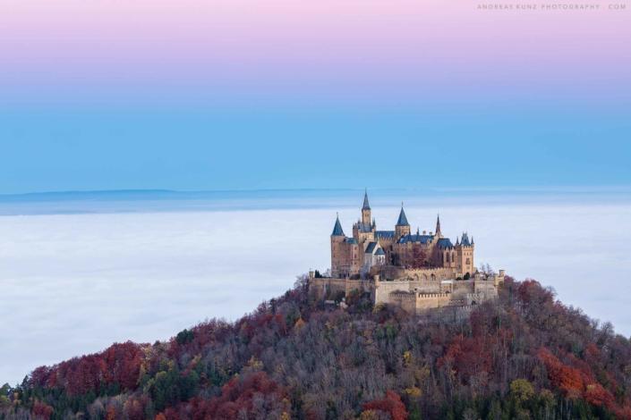 hohenzollern-with-fog-sunrise