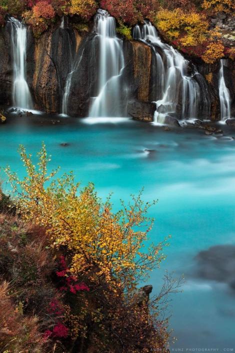 hraunfossar-autumn-detail-vertical