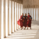 monks-walking-in-white-walkway