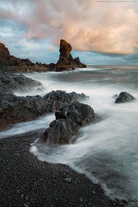 seascape Iceland Djupalonssandur