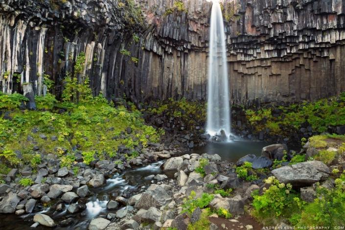 Iceland svartifoss
