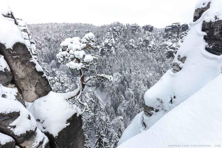 Winter saxon switzerland