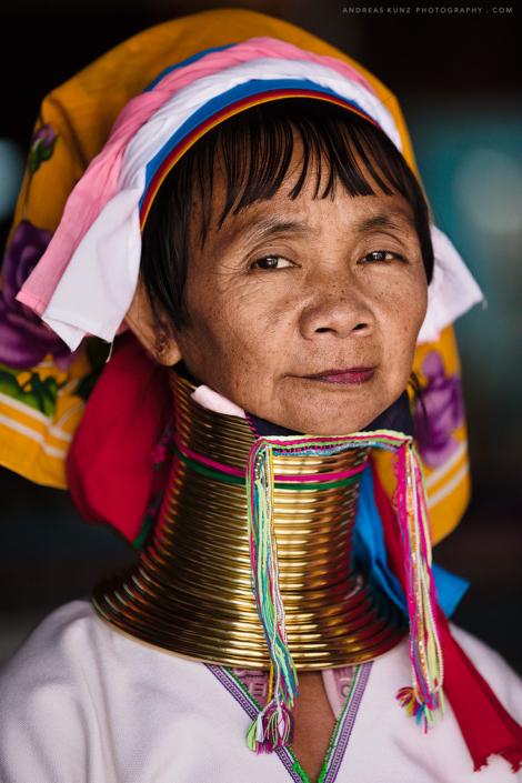Longneck woman - Tribal Padaung
